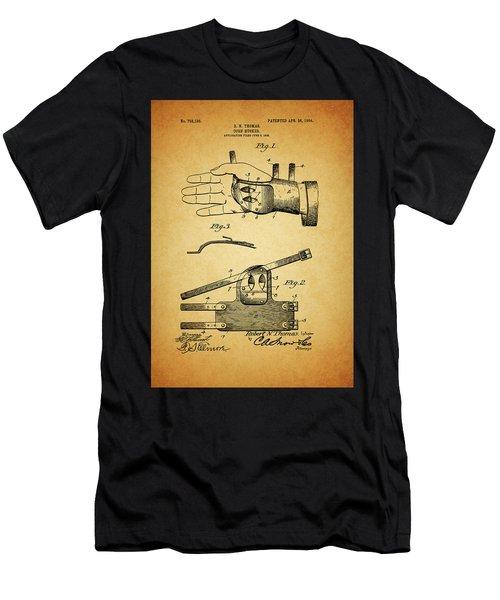 1904 Corn Husker Patent Men's T-Shirt (Athletic Fit)