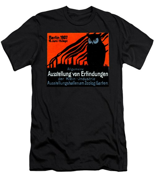 1907 Berlin Exposition Poster Men's T-Shirt (Athletic Fit)