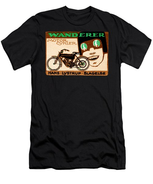 1910 Wanderer Motorcycle Men's T-Shirt (Slim Fit) by Historic Image