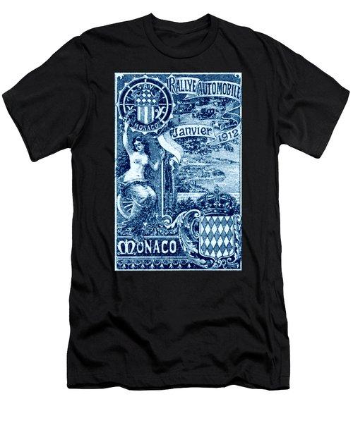 1912 Monaco Automobile Rally Men's T-Shirt (Athletic Fit)