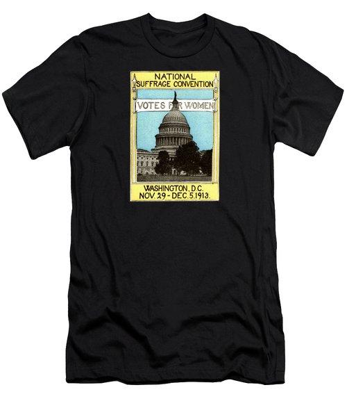 1913 Votes For Women Men's T-Shirt (Slim Fit) by Historic Image