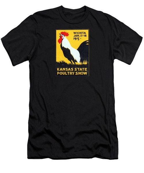 1915 Kansas Poultry Fair Men's T-Shirt (Athletic Fit)