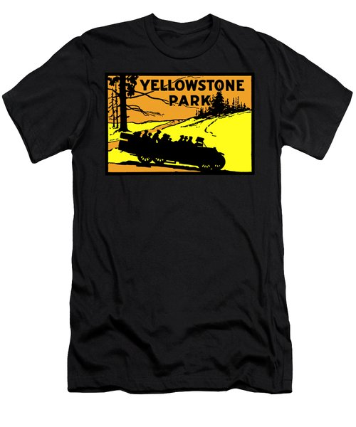 1920 Yellowstone Park Men's T-Shirt (Athletic Fit)