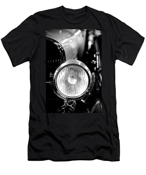 1925 Lincoln Town Car Headlight Men's T-Shirt (Athletic Fit)