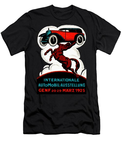 1925 Swiss International Car Show Men's T-Shirt (Athletic Fit)