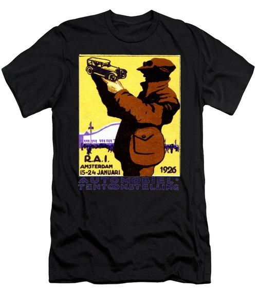 1926 Dutch Car Show Men's T-Shirt (Athletic Fit)