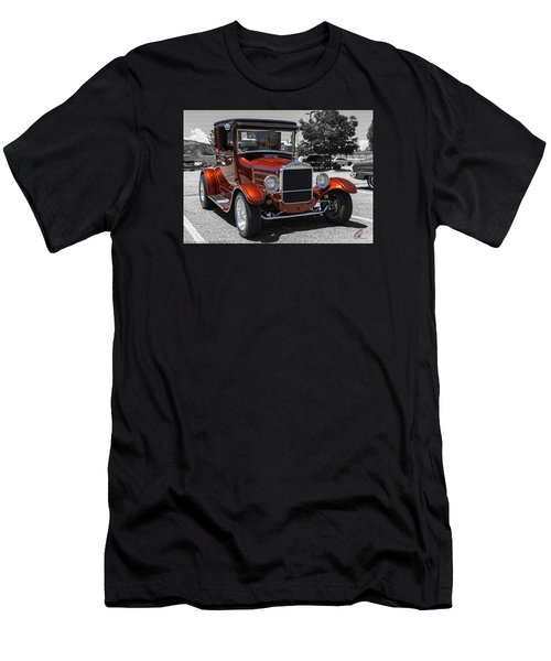1928 Ford Coupe Hot Rod Men's T-Shirt (Slim Fit) by Chris Thomas