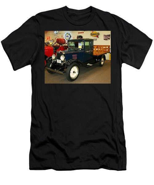 1930 Chevrolet Stake Bed Truck Men's T-Shirt (Athletic Fit)