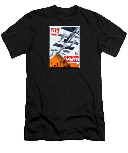 1930 Italian Air Show Men's T-Shirt (Athletic Fit)