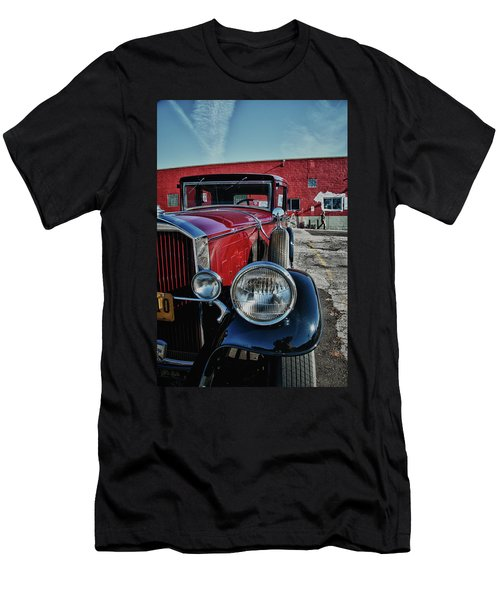Men's T-Shirt (Slim Fit) featuring the photograph 1931 Pierce Arow 3473 by Guy Whiteley