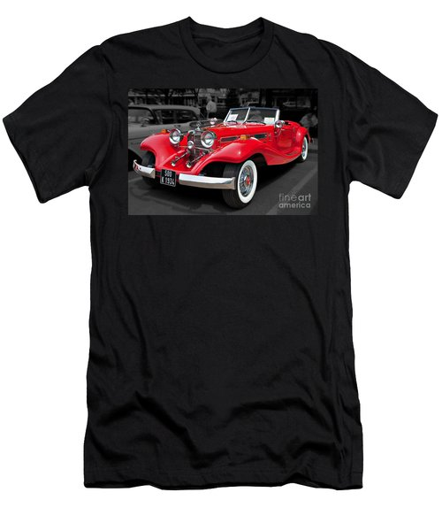 1934 Mercedes 500k Cabriolet Men's T-Shirt (Athletic Fit)