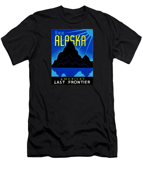 1935 See Alaska Poster Men's T-Shirt (Athletic Fit)