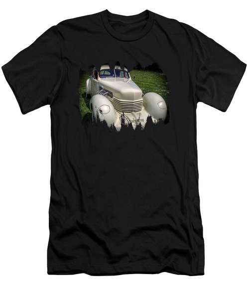 Men's T-Shirt (Slim Fit) featuring the photograph 1936 Cord Automobile by Thom Zehrfeld