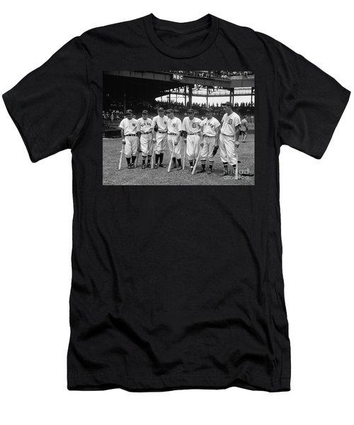 1937 All Star Baseball Players Men's T-Shirt (Athletic Fit)