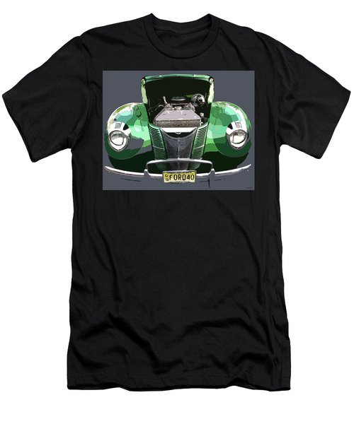 Men's T-Shirt (Slim Fit) featuring the photograph 1940 Ford by JoAnn Lense