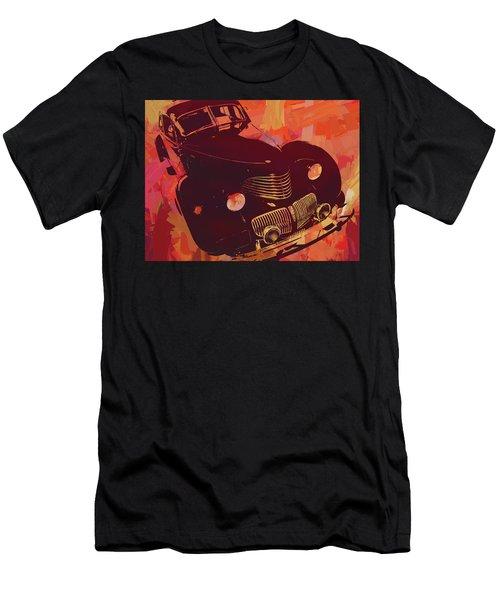 1940 Hupp Skylark Red Pop Men's T-Shirt (Athletic Fit)