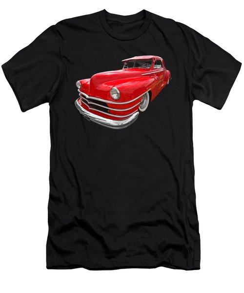 1940s Custom Chrysler New Yorker In Red Men's T-Shirt (Athletic Fit)