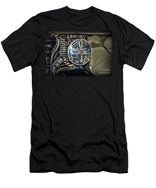 c4ca89894 1946 Harley Davidson Knucklehead Horn Men's T-Shirt (Athletic Fit)