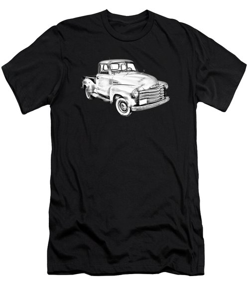 1947 Chevrolet Thriftmaster Pickup Illustration Men's T-Shirt (Athletic Fit)