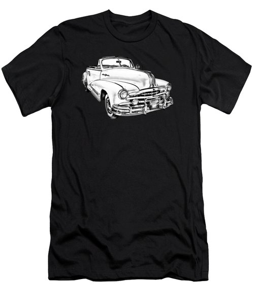 1948 Pontiac Silver Streak Convertible Illustration Men's T-Shirt (Athletic Fit)