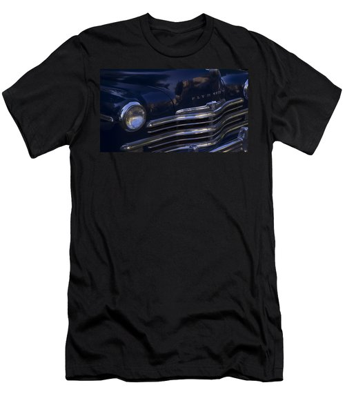 1949 Plymouth Deluxe  Men's T-Shirt (Slim Fit) by Cathy Anderson
