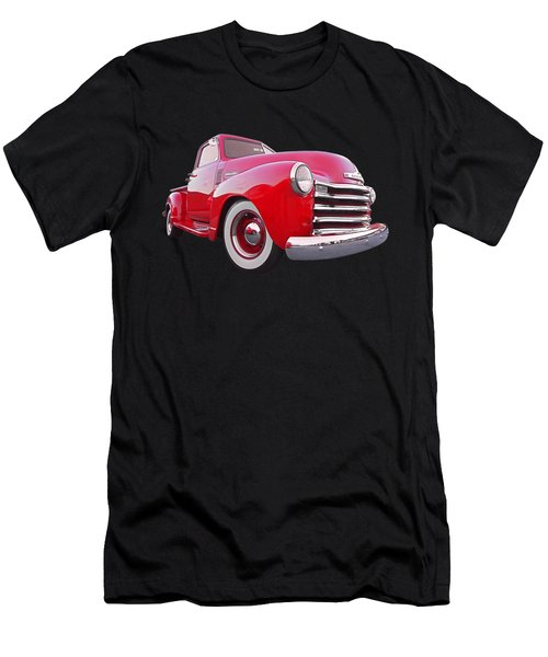 1950 Chevy Pick Up At Sunset Men's T-Shirt (Slim Fit) by Gill Billington
