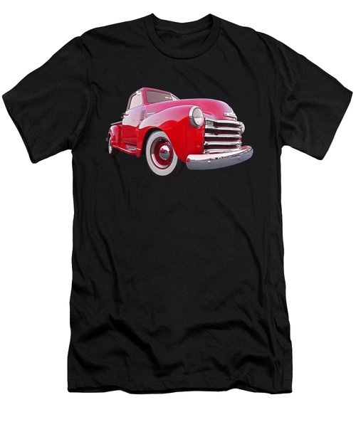 1950 Chevy Pick Up At Sunset Men's T-Shirt (Athletic Fit)