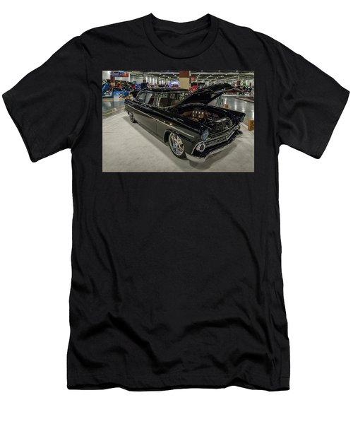 Men's T-Shirt (Slim Fit) featuring the photograph 1955 Ford Customline by Randy Scherkenbach