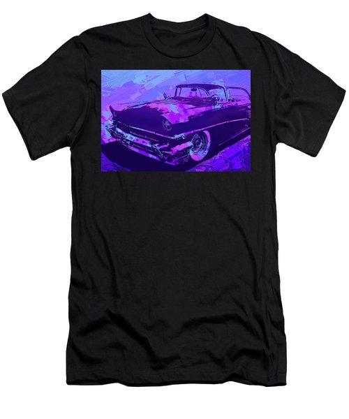 1956 Mercury Hardtop Custom Pop Violet Men's T-Shirt (Athletic Fit)