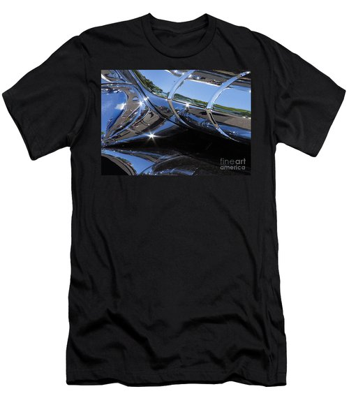 1956 Pontiac Chieftain Grill Abstract Men's T-Shirt (Athletic Fit)