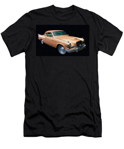 1957 Studebaker Golden Hawk Digital Oil Men's T-Shirt (Athletic Fit)