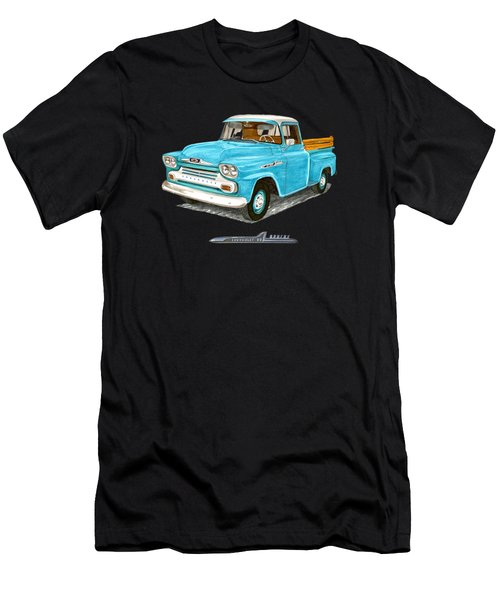Apache Pick Up Truck Men's T-Shirt (Athletic Fit)