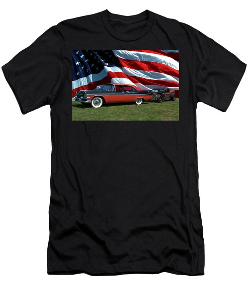 1958 Dodge Coronet And 1935 International Dragster Men's T-Shirt (Athletic Fit)