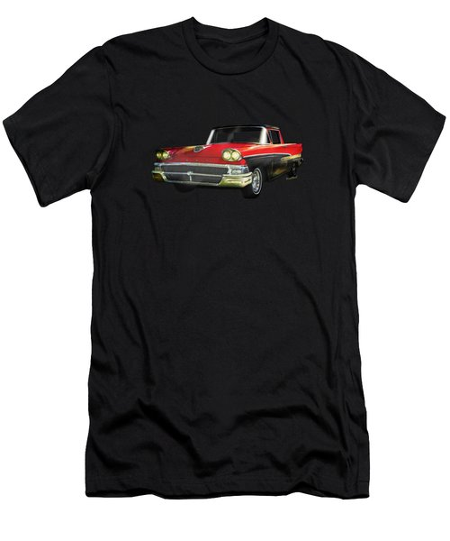 1958 Ford Ranchero Watercolour Men's T-Shirt (Athletic Fit)
