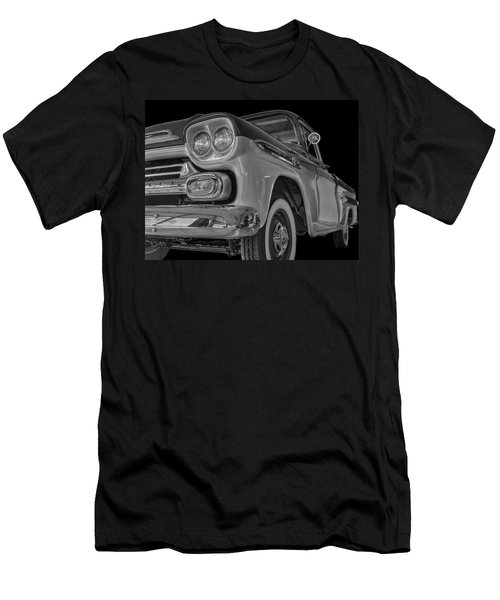 1959 Chevrolet Apache - Bw Men's T-Shirt (Athletic Fit)