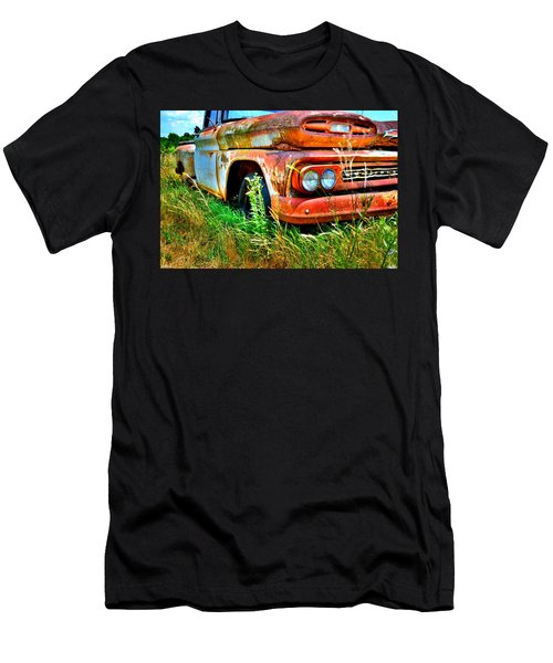 1961 Chevrolet Apache 10 5 Men's T-Shirt (Athletic Fit)