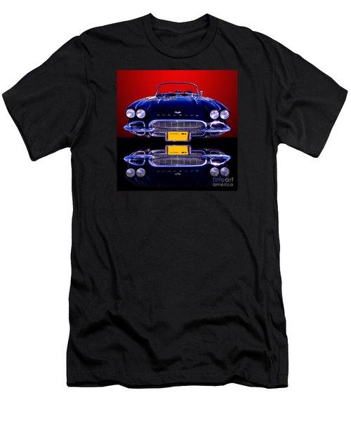 1961 Chevy Corvette Men's T-Shirt (Athletic Fit)