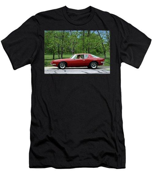 1963 Studebaker Avanti Coupe Men's T-Shirt (Athletic Fit)