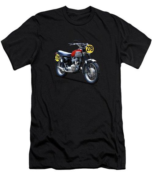 1964 Steve Mcqueen Isdt Men's T-Shirt (Athletic Fit)