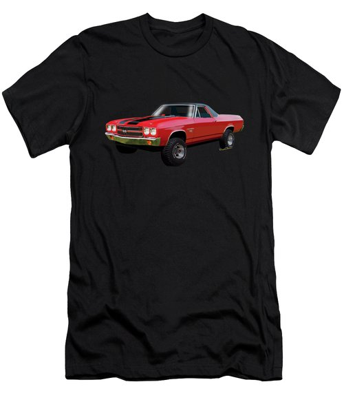 1970 Chevy El Camino 4x4 Not 2nd Generation 1964-1967 Men's T-Shirt (Athletic Fit)