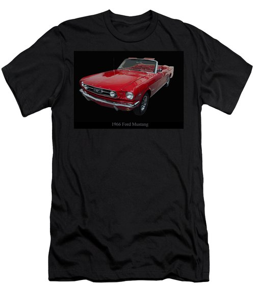 1966 Ford Mustang Convertible Men's T-Shirt (Athletic Fit)