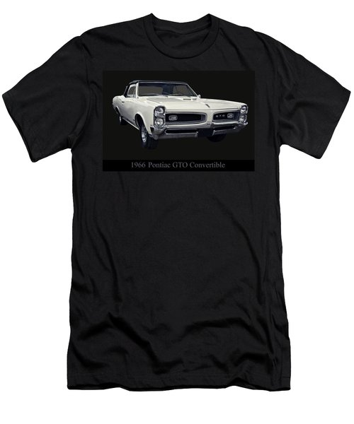 1966 Pontiac Gto Convertible Men's T-Shirt (Athletic Fit)