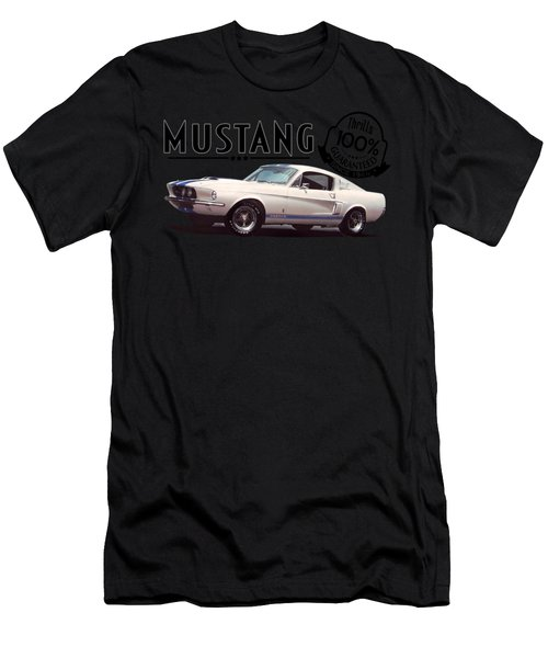 1967 Mustang Gt500 Thrills Men's T-Shirt (Athletic Fit)
