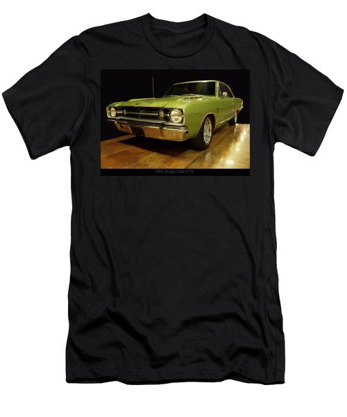 Men's T-Shirt (Athletic Fit) featuring the photograph 1968 Dodge Dart Gts by Chris Flees