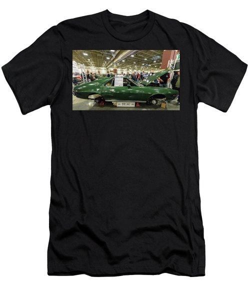 Men's T-Shirt (Slim Fit) featuring the photograph 1969 Amc Amx by Randy Scherkenbach
