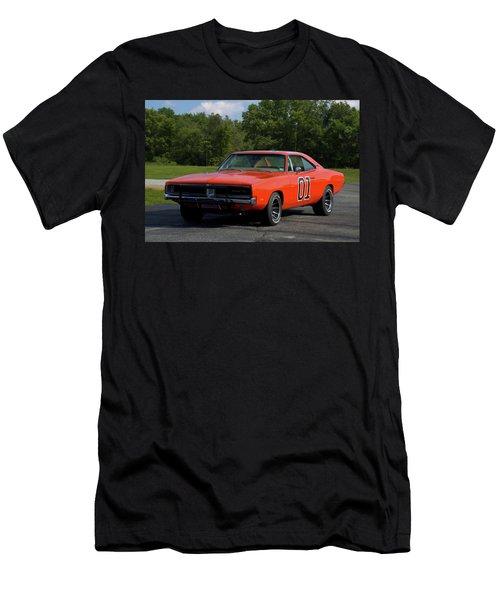 1969 Dodge Charger Rt Men's T-Shirt (Athletic Fit)