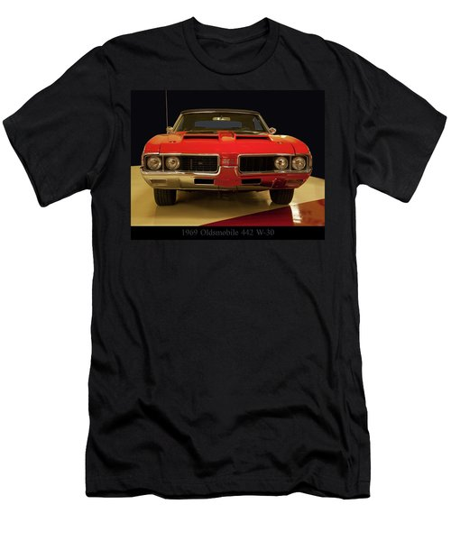 1969 Oldsmobile 442 W-30 Men's T-Shirt (Athletic Fit)