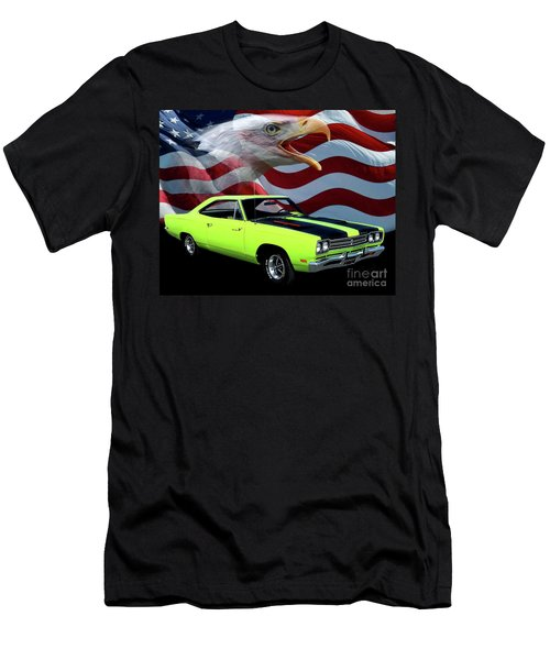 1969 Plymouth Road Runner Tribute Men's T-Shirt (Athletic Fit)