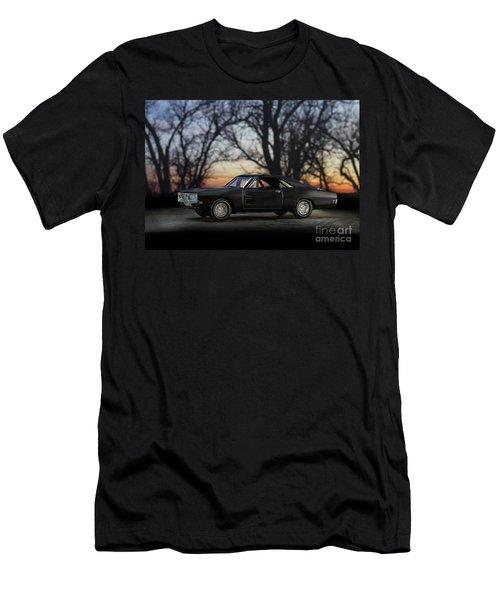 1969 Roadrunner Men's T-Shirt (Slim Fit) by Art Whitton