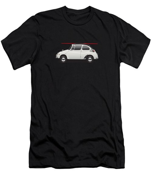 1969 Subaru 360 Young Ss - Creme Men's T-Shirt (Athletic Fit)